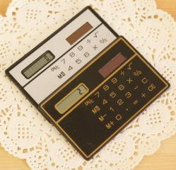卸し売り安い小型小型のクレジットカードのサイズの太陽計算機