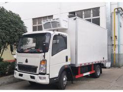 Sinotruk HOWO 4X2 5ton -30 Tonne Gefriermaschine gekühlter Fridge Van Truck für Transport