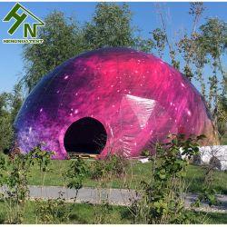 خيمة مصممة خصيصاً لإقامة الأحداث الخارجية على شكل قبة جيو 6 م