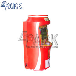 Hot Sale Coca Cola Design en forme de jouet Mini Grabber Machine de jeu pour enfants et parents