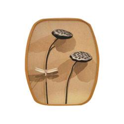 Простые творческие природных бамбук фото фоторамки