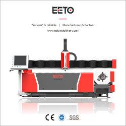 Tubo Quadrado máquina de corte de fibra a laser para o tubo em aço inoxidável