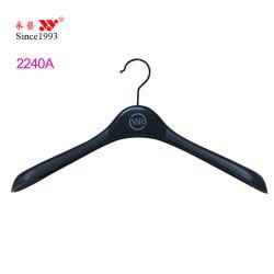 Peça de vestuário de notável de Plástico Preto Hanger cabides para Mulheres Homens