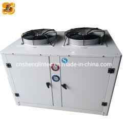 Sistema de refrigeração U Condensador Tipo caixa da unidade do condensador