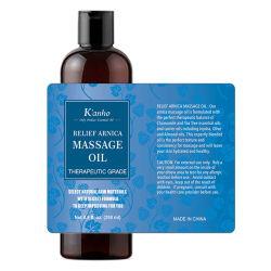 Huile de massage de corps de 100% naturel essentiel d'huile de massage du corps relaxant de gros de produits sous étiquette privée minceur OEM