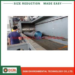 大きいサイズPP PVC PE PSの管のプロフィールのプラスチックリサイクルのシュレッダー