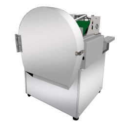家庭で野菜と果物レタス・スカリオン・セロリ・ペッパー・エッグプラント・キャロット・カッティング・カッター・スライカー・マシンを使用しています