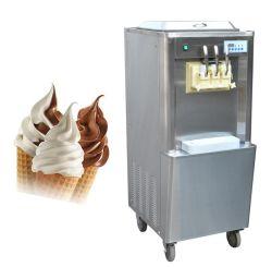 De commerciële 3 Zachte Aroma's dienen Machine van het Roomijs van de Machine van de Yoghurt van het Roomijs de Machine Bevroren