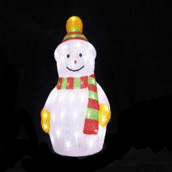LED de exterior natal boneco de acrílico 3D Luz Motif