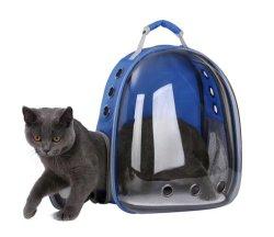 Cápsula de espaço de Cão Gato mochila em forma de bolsa de viagem Pet