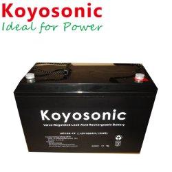 Batería recargable de 12V 120AH VRLA AGM SLA de plomo ácido de batería del dispositivo controlador de dominio de la batería del sistema UPS de batería de almacenamiento de copia de seguridad