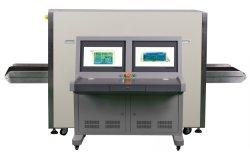 Abnm-7555 de Scanner van de Röntgenstraal van het Pakket van de lading, het Systeem van de Inspectie van de Röntgenstraal 0.22m/S