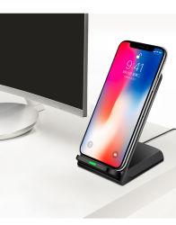 Qi Wireless зарядное устройство для iPhone 8 11 X Xr Xs Max беспроводной зарядки Samsung S8, S9, S10