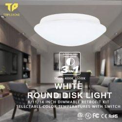 11inch LEDの天井灯20W 15W Dimmableの現代ランプの居間の照明設備の寝室の台所表面の台紙の天井ランプ