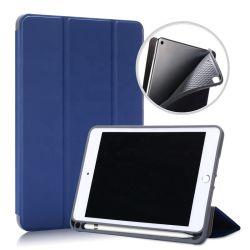 Resistente estojo de couro Tablet Capa para iPad Mini 5 4 caso com porta-lápis