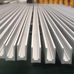 Usine de personnaliser les profils en aluminium extrudé anodisé Construction pour lunettes