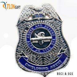 Neues Andenken-kundenspezifisches Abzeichen-Badge fördernde MetallMilitärpolizei