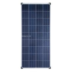 La Chine à haute efficacité 160 W watts polycristallin Panneau solaire 18V hors réseau 12v 12 v RV bateau, voiture électrique, 12V Système de la batterie