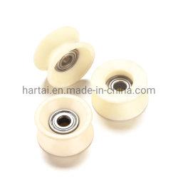 中国の製造ワイヤーガイドプーリー織物機械アクセサリベアリングが付いている陶磁器プーリーアルミナの陶磁器のローラー