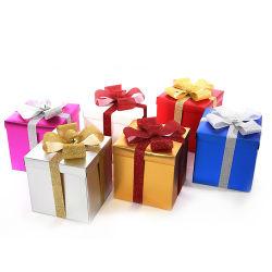 Décoration de Noël boîte cadeau de Noël boîte Socks boîte cadeau de Noël à l'emballage