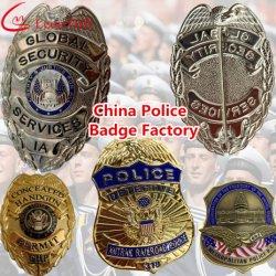 Usine Pin personnalisé insigne de police militaire de métal