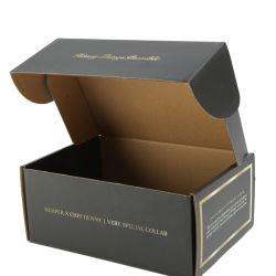 Пользовательский цвет печать белый гофрированный картон коробки транспортировочные почтовый ящик