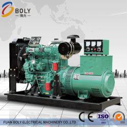 Fabricant de la technologie 100kw/150kw sans balai de puissance de 4 pôles magnétiques de l'énergie du générateur électrique avec moteur diesel de l'alternateur
