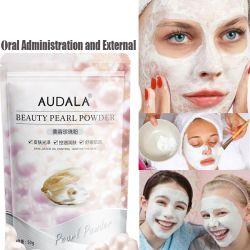 El polvo de perla pura fachada Reparación de la máscara facial Crema Facial manchas Eliminar melanina Cuidado Facial purificante Tratamiento pecas del envejecimiento de 50g
