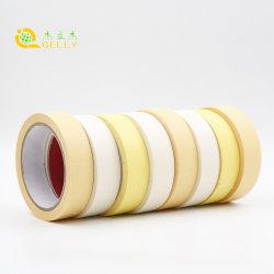 Resistente a la naturaleza adhesivo embalaje cinta de enmascarar el conducto para la decoración