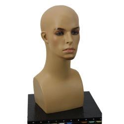 Les verres et les casquettes Lunettes de soleil Mankeup mâle réaliste d'affichage de la tête de mannequin
