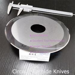 Circulaire de refendage de carbure de couteaux