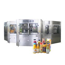 음료 턴키 프로젝트 생산 라인에게 최신 채우는 밀봉 기계를 하는 작은 망고 오렌지 주스 병에 넣는 장비 플랜트 Apple 과일 주스