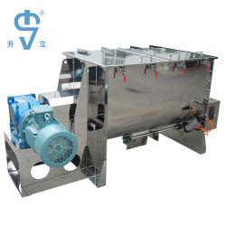 Vis de ruban de poudre d'acier doux Mixer 2000L avec de l'Engrais de mélange de grande capacité