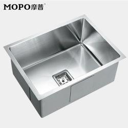 SUS 304# Cuisine en acier inoxydable Lavabo évier de cuisine moderne
