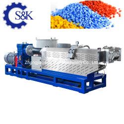 شهادة CE نفايات PP PE سجادات منسوجة بضاغط آلة إتلاف بلاستيك بقدرة 380 فولت، برغي مفرد، إعادة تدوير جرانتور جرانulator، آلة طحن تخدير سعر الماكينة
