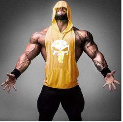 Personnaliser la mens Performance Sports d'impression Sexy salle de gym Yoga camisoles