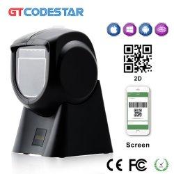 С другой стороны сканера штрих-кодов для настольных ПК - Свободный Всенаправленный сканер CMOS