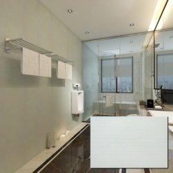 Стены в ванной комнате керамическая 8X12 матовый белый плитки