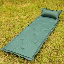 Pop Up Automatic Inflatable Air Bed Breathable Outdoor Camping Sleeping Pad Con Cuscino