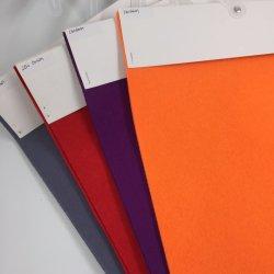 De kleurrijke In het groot Polyester van Fabrieken voelde de Geslagen niet Geweven Gevoelde Polyester Gevoelde Stof van het Broodje Naald voor de Decoratie van de Ambacht