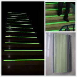 Photoluminescent Trede die van het Aluminium AntislipNosing van de Stap besnuffelen
