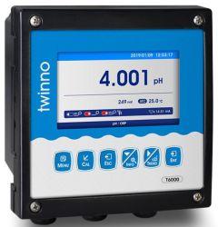 T6000 독점적인 신제품 동향 전시 색깔 LCD 디스플레이를 가진 온라인 감시 pH/ORP 미터 관제사