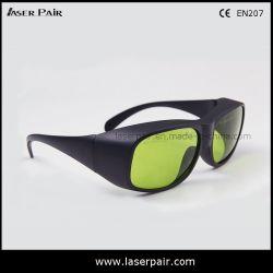 60% de fibra de alta visibilidade Óculos de protecção laser de 808nm 980nm Díodos, 1064nm ND: YAG atender marcação EN207