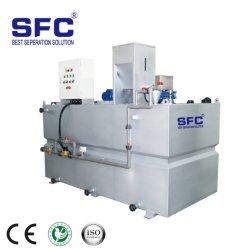 Le traitement d'eau automatique PAM poudre chimique de la machine de préparation de polymères de dosage