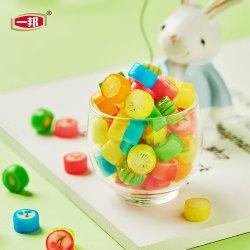 China Yibang patrón 1g de azúcar en caramelos de fruta de disco duro de confitería