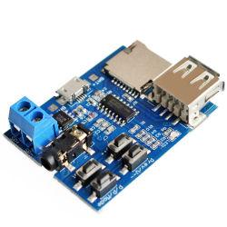IC 증폭기 USB TF U 디스크 오디오 모듈 PCB Curcuit MP3 널 선수