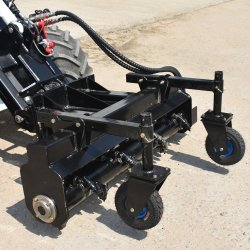 Chargeur Skid Steer Bobcat chargeuse à roues de râteau de puissance pour la vente des pièces jointes