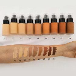 Cobertura completa de maquillaje de larga duración de la Fundación líquido mate