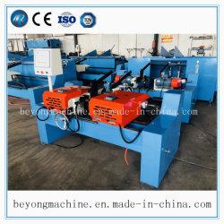 Semi-automático Cabeça Dupla a extremidade do tubo de rebarbar / Tubo Biselamento / Máquina de chanfrar para cobre, aço inoxidável, alumínio, aço carbono, liga, Tubo de titânio