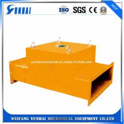Poder magnético de la suspensión de maquinaria Mineral de chatarra de acero de extracción del separador de Magentic permanente